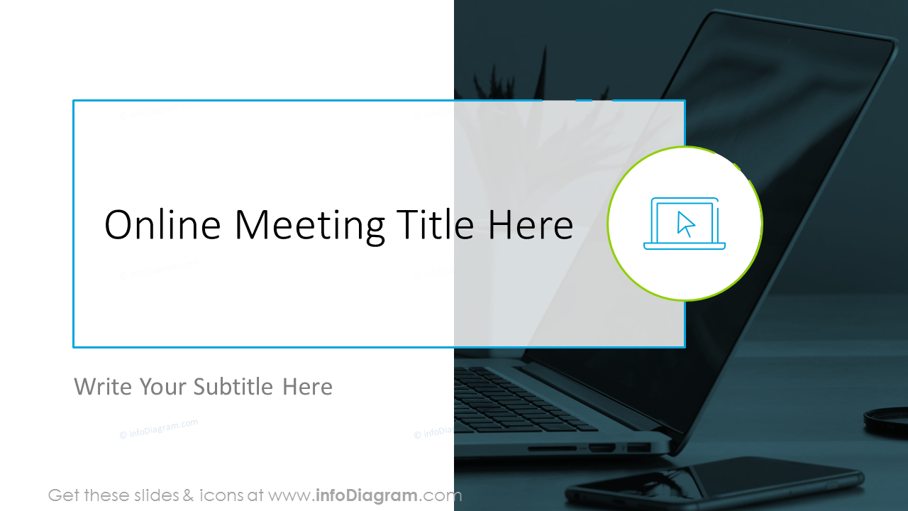 Online meeting title here