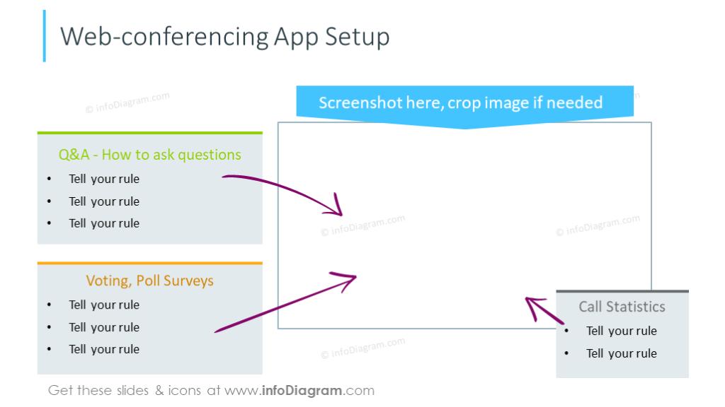 Design of web-conferencingslide