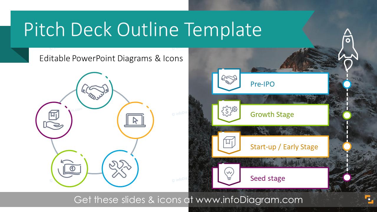 Elegant Investment Pitch Deck Presentation Ppt Template