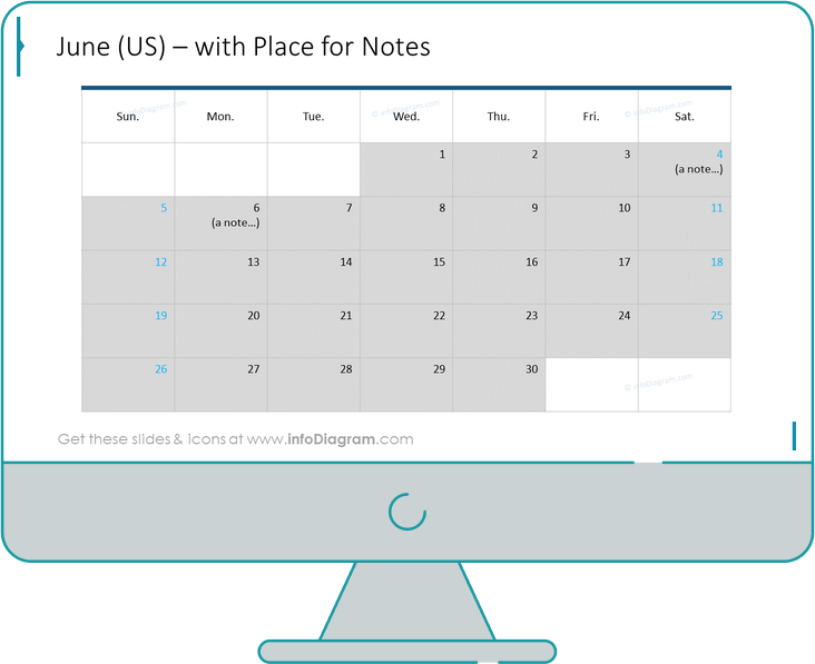 calendars us month before redesign