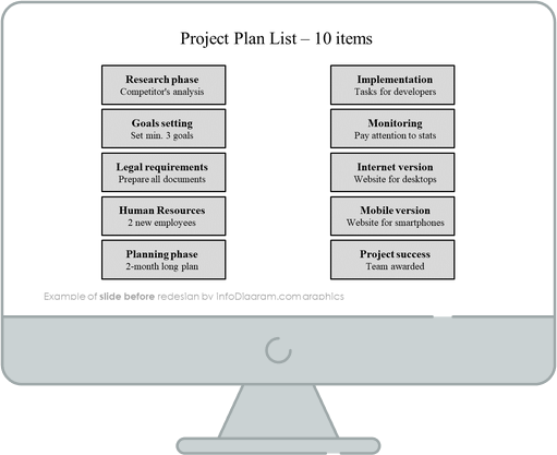 infographics_diagrams_lists_arrows_10_items_Before