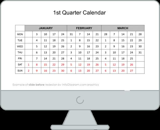 calendars eu first quarter before redesign
