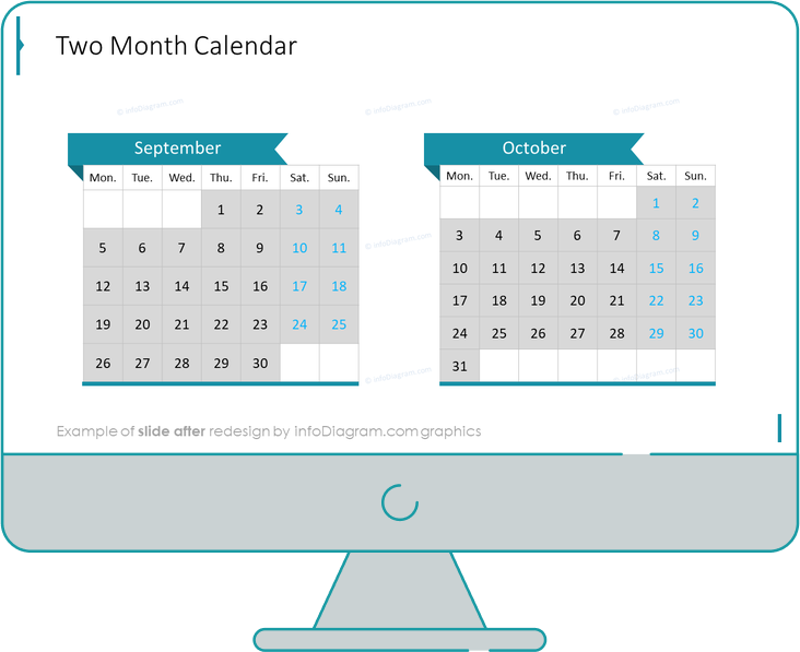 calendars eu two month after redesign