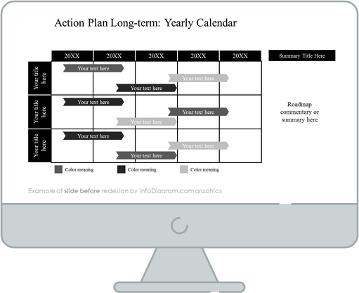 before redesign action plan slide ppt