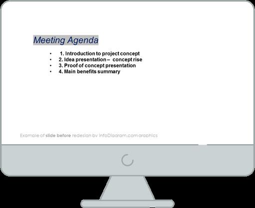flat icons bundle example meeting agenda before