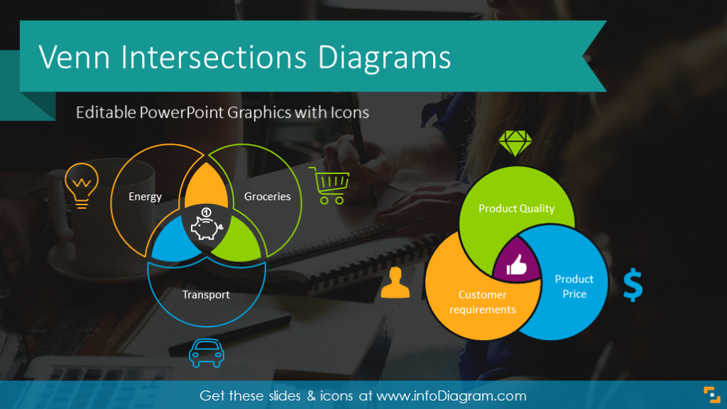 Diagram Shapes Powerpoint Templates