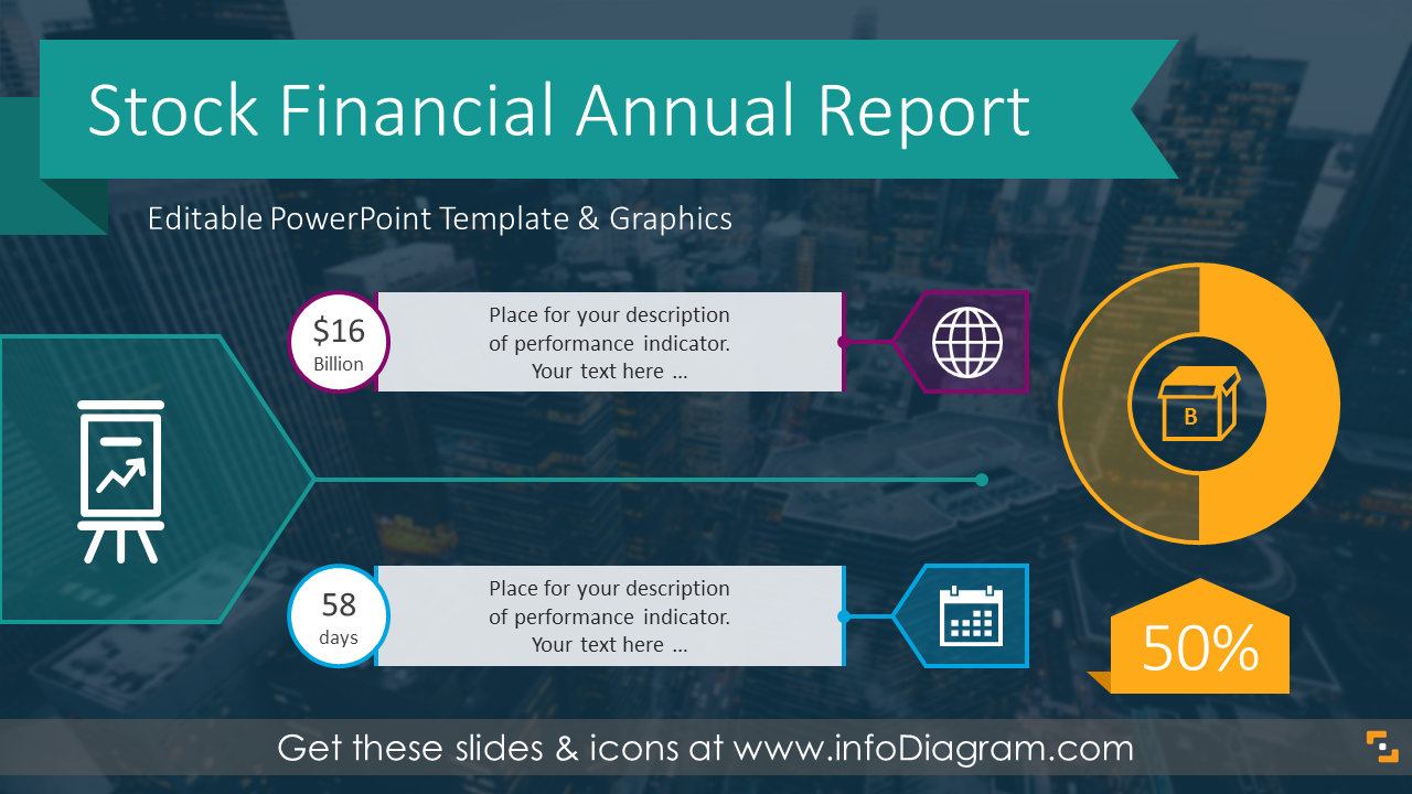 Modern Annual Stock Financial Report Ppt Template With 17