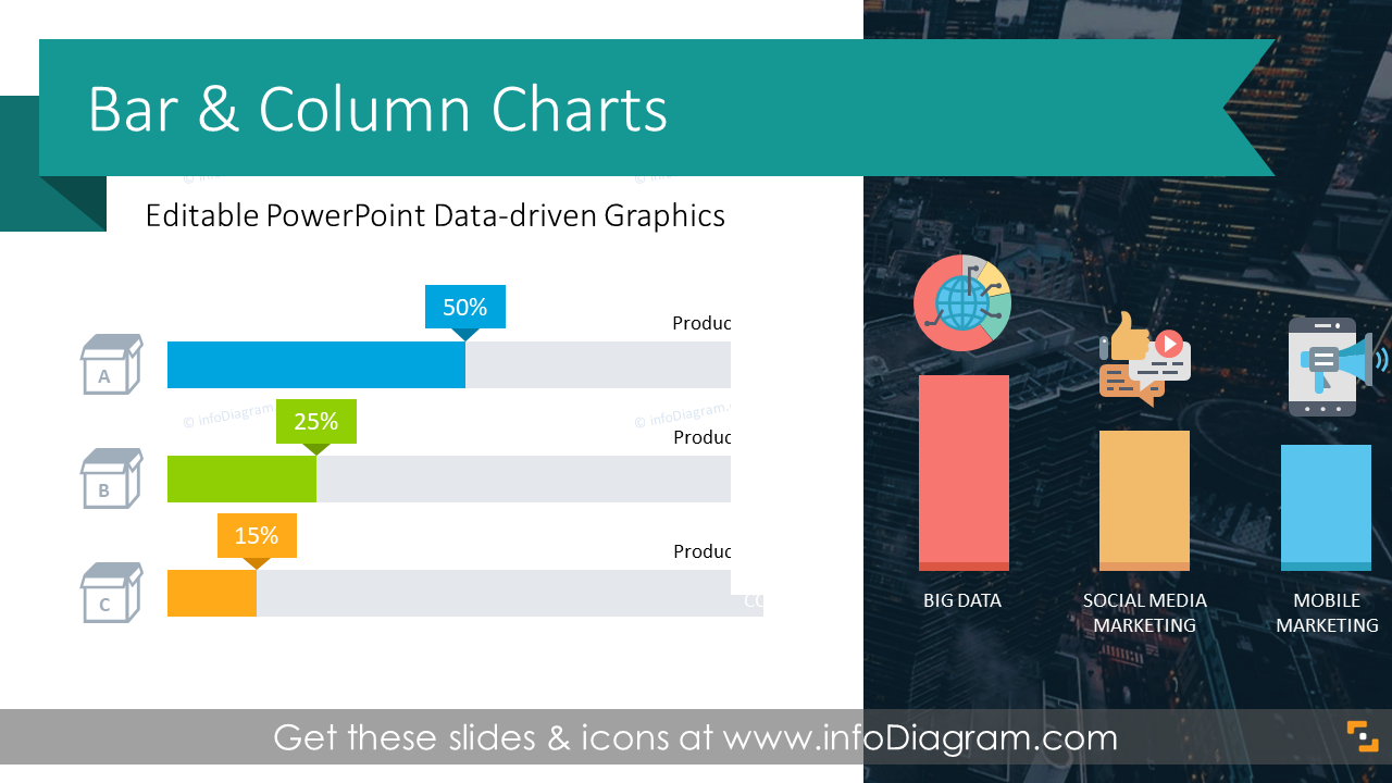 14 Bar Chart Design Templates And Stacked Column Graphs