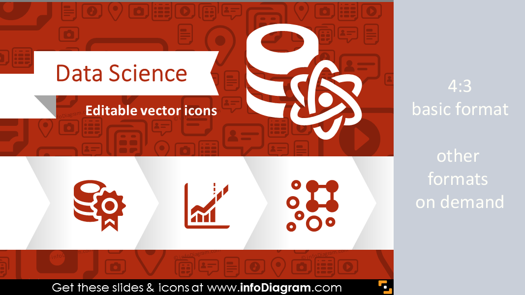 30 Data Science Icons Big Data Predictive Analitics Ppt
