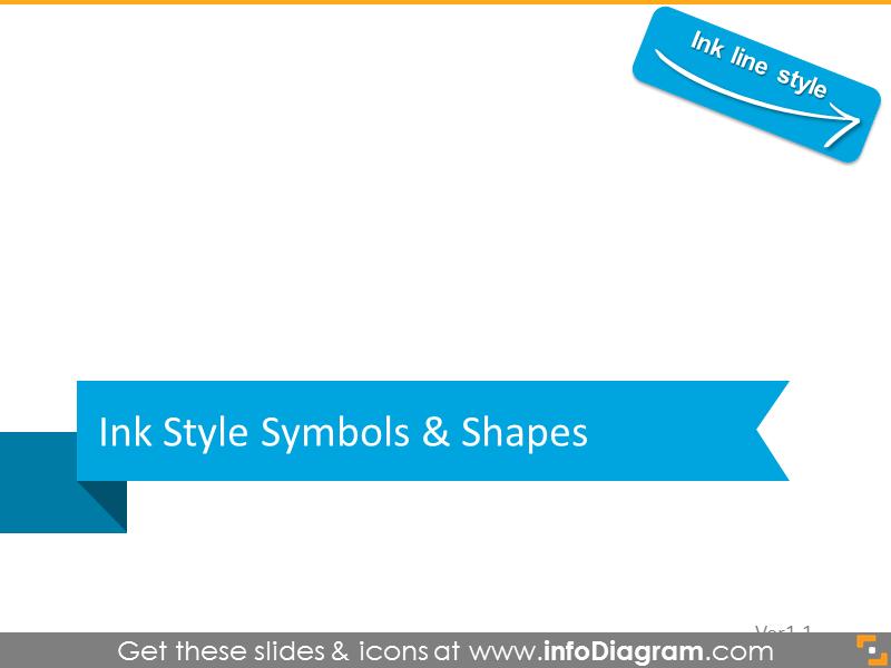 Ink style symbols
