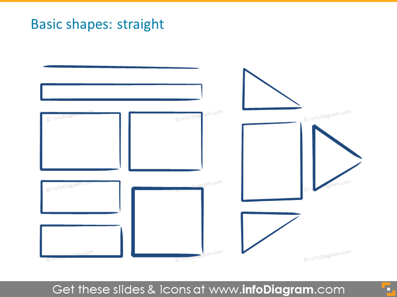 Basic shapes: straight shapes