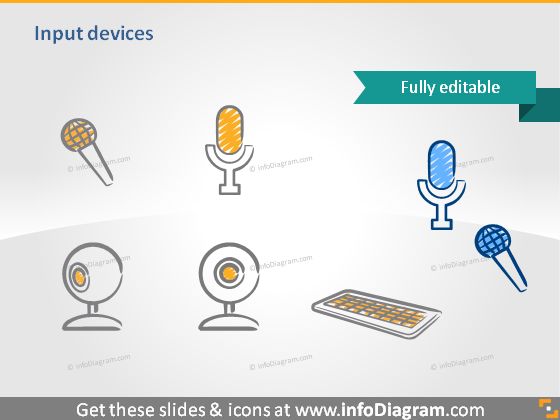 input camera video microphone mike clipart powerpoint