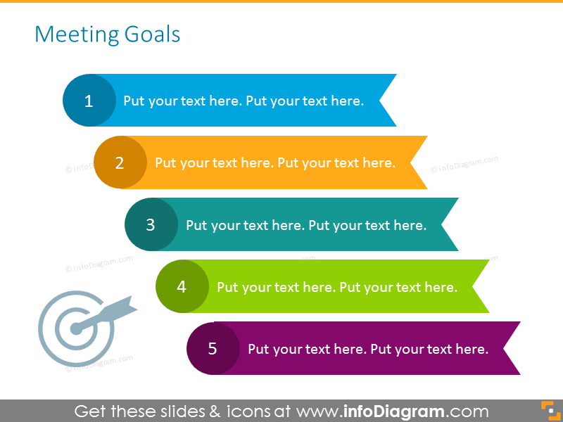 Meeting ppt presentation - setting goals on the problem-solving meeting