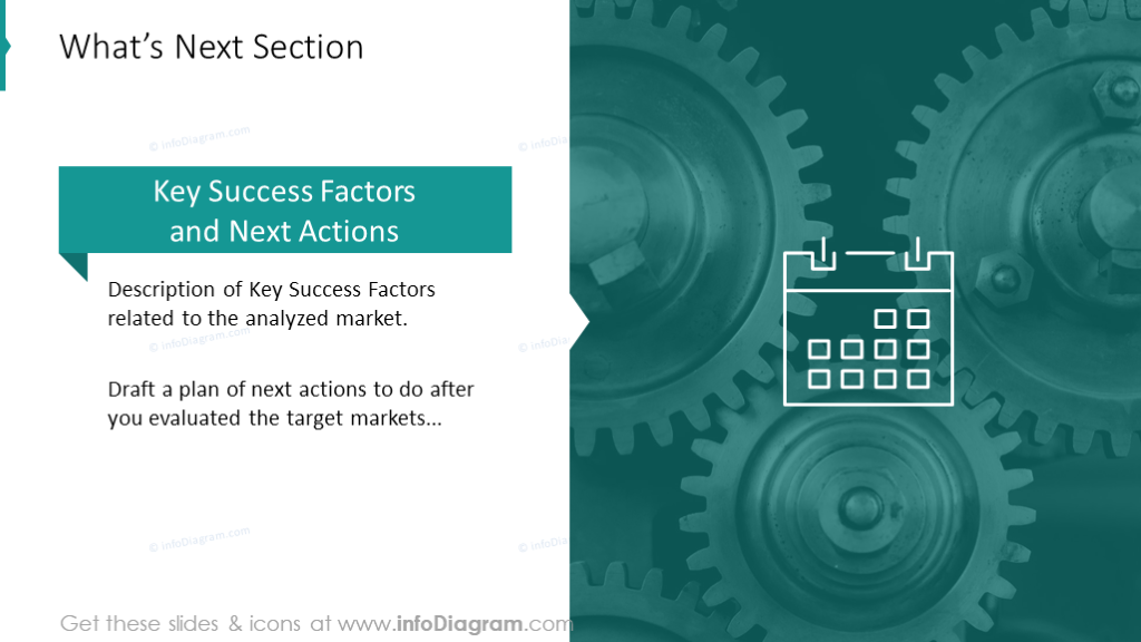 What's next section slide template