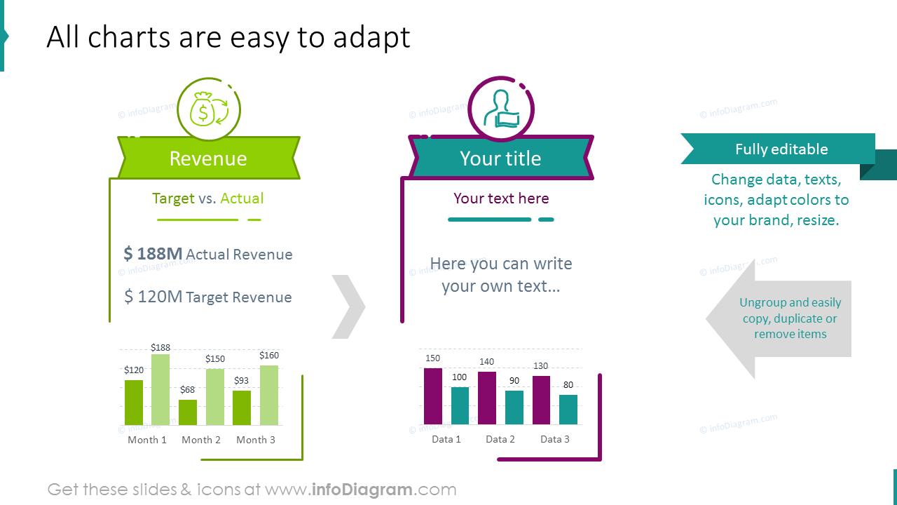 Finance data graphics
