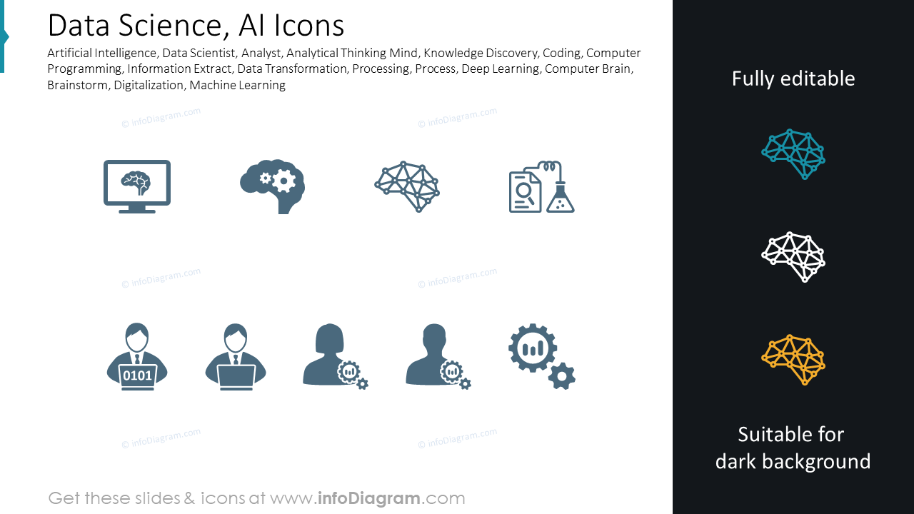 Data Science, AI Icons