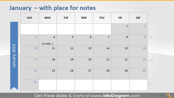 January school notes plan 2016 sketch