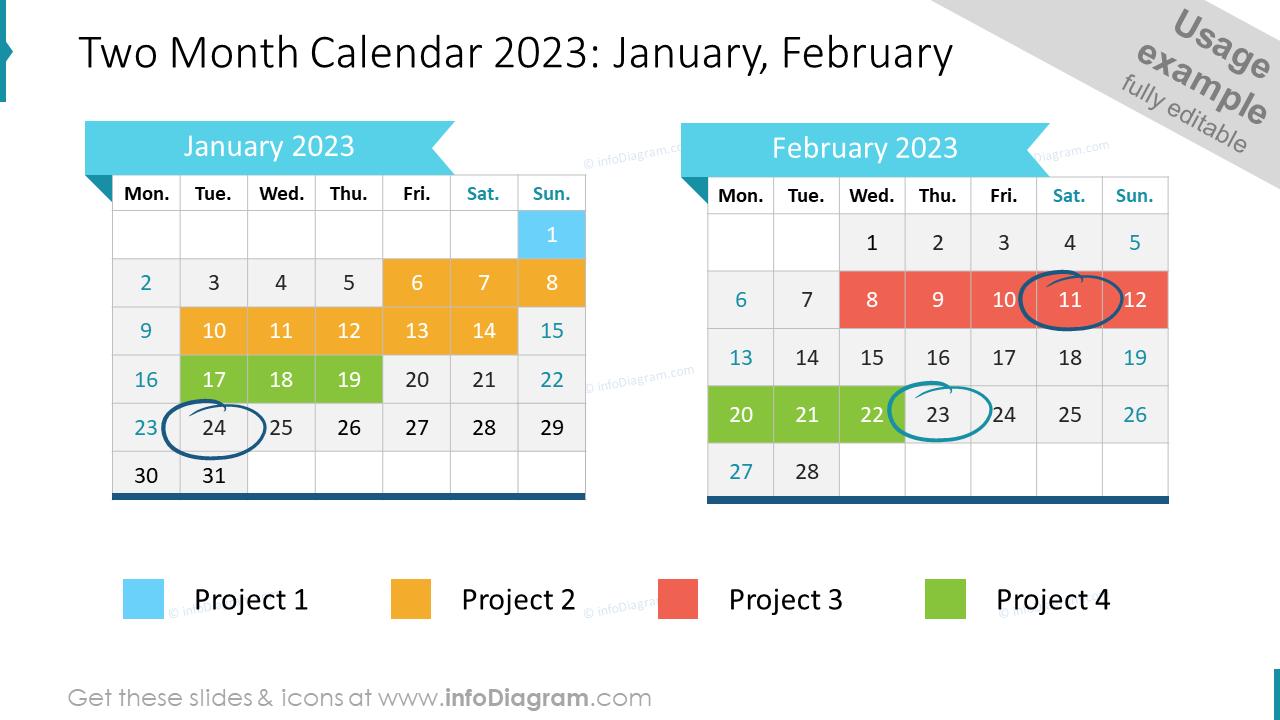 Two Month EU Calendar 2020