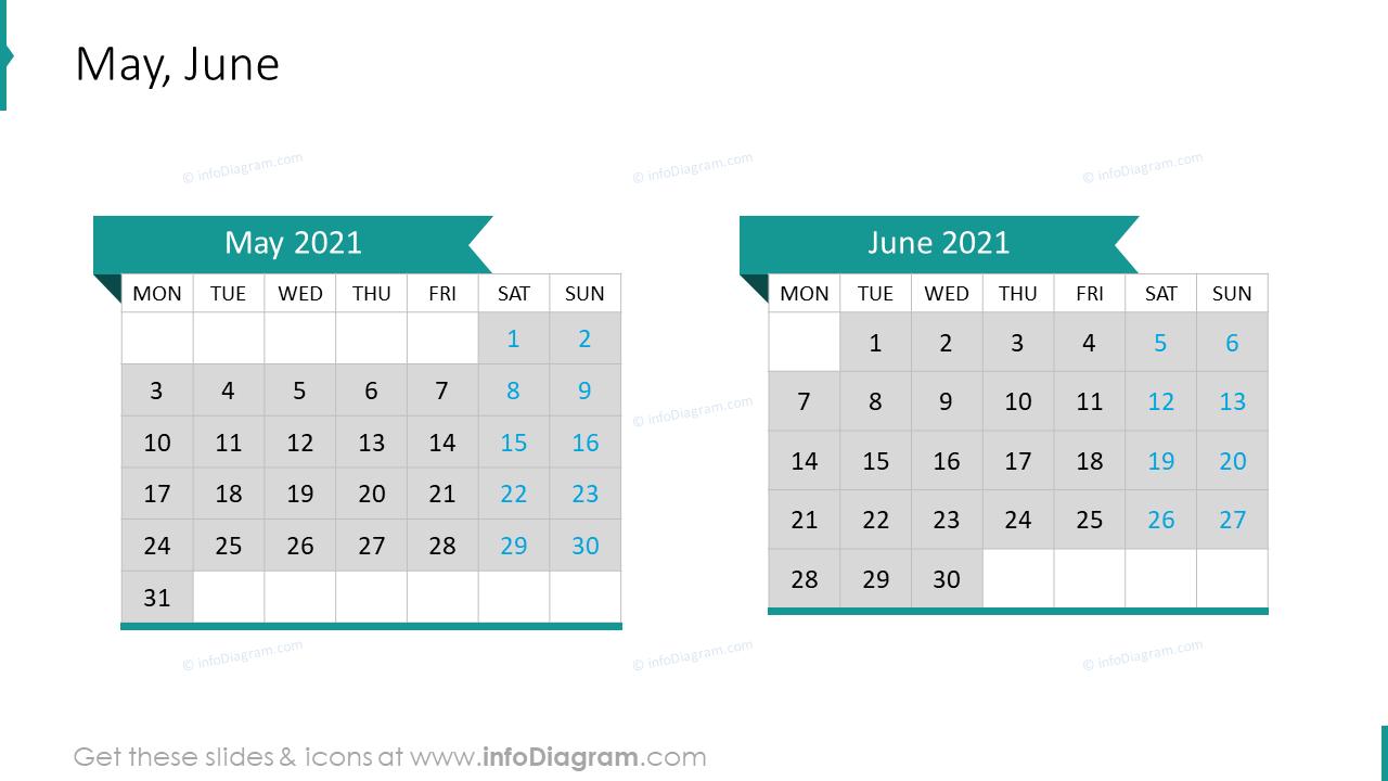 May June 2020 EU Calendar