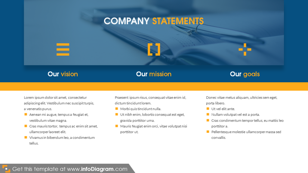 Company statements