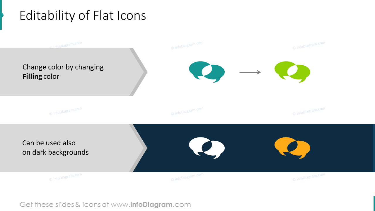 Spiral ppt icons
