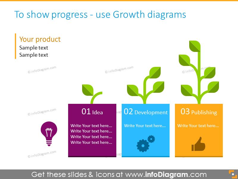 key data presentation infgraphics template