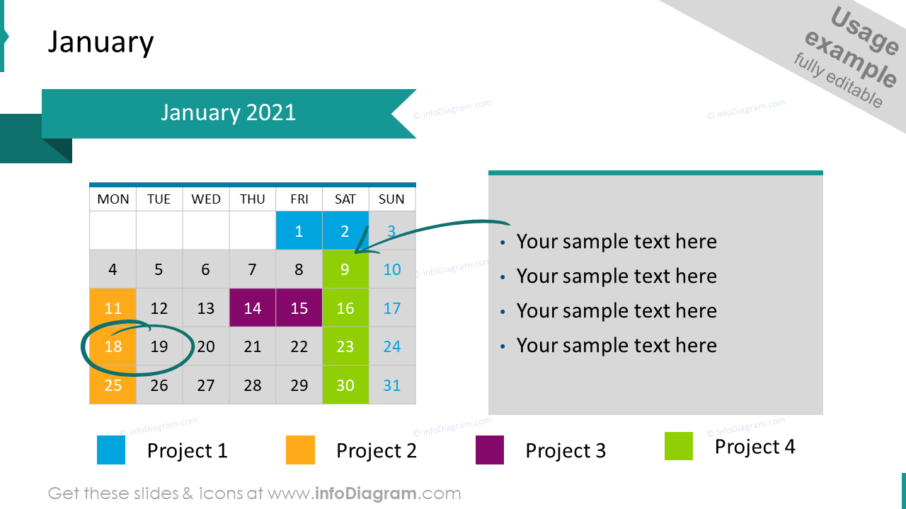 EU Calendar 2020 January Example