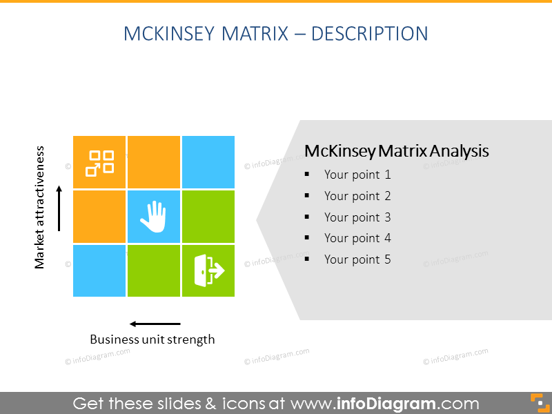 Identify the future direction of each business unit - gemckinsey matrix template