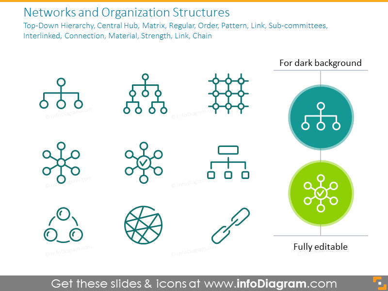 Networks and Organization Structures