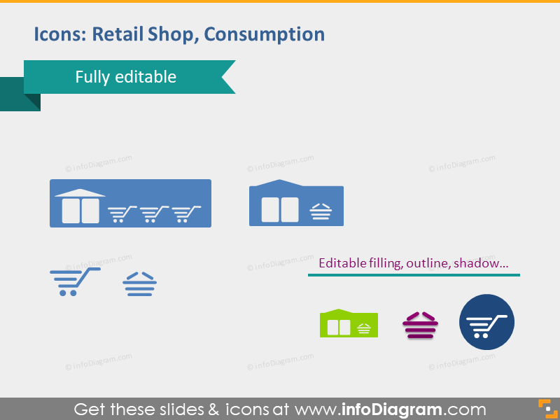 retail shop consumption trade market