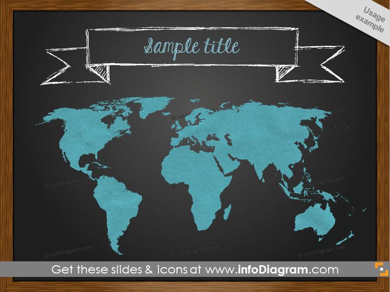 blackboard-world-map-sketch-white-banner-ppt-clipart