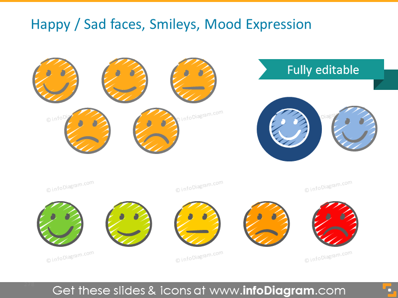 Mood and emotion icons