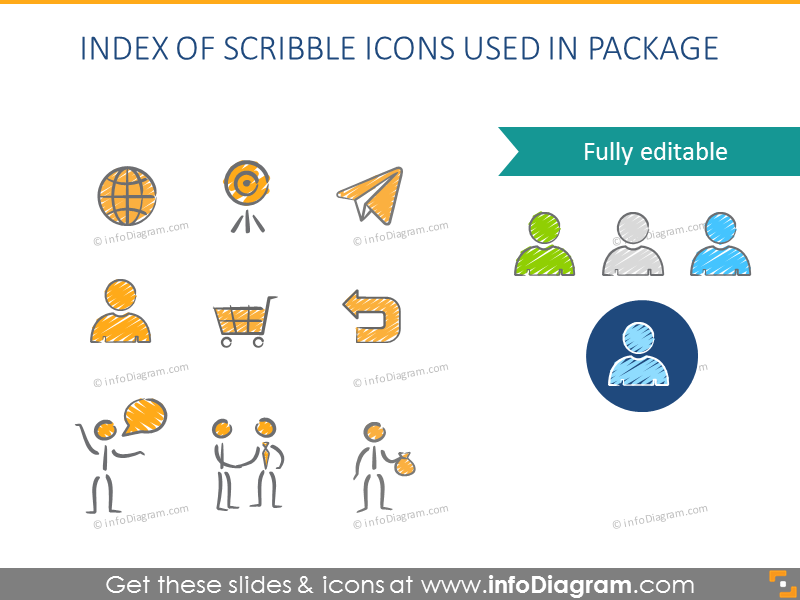 Index of Scribble Icons used in package