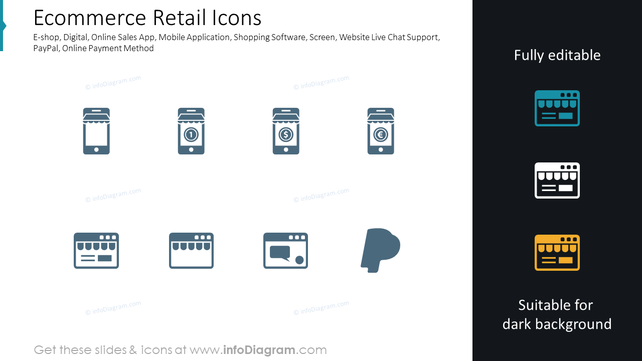 Ecommerce Retail Icons