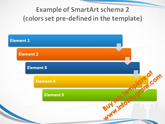 smartart_2_colors_slide_blue_light_pptx_template