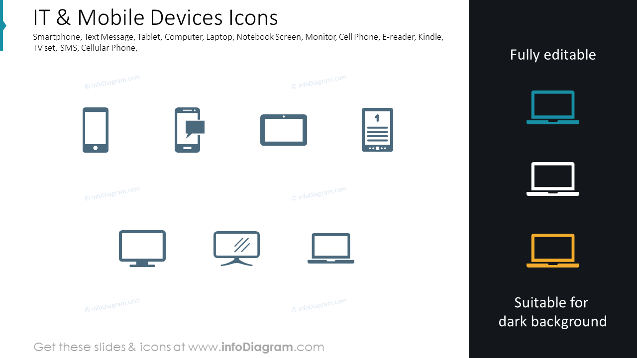 IT & Mobile Devices Icons