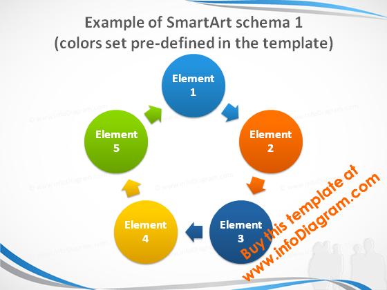 smartart_1_colors_slide_blue_light_pptx_template
