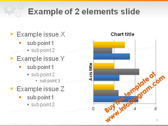 text_chart_slide_layout_gears_light_pptx_template