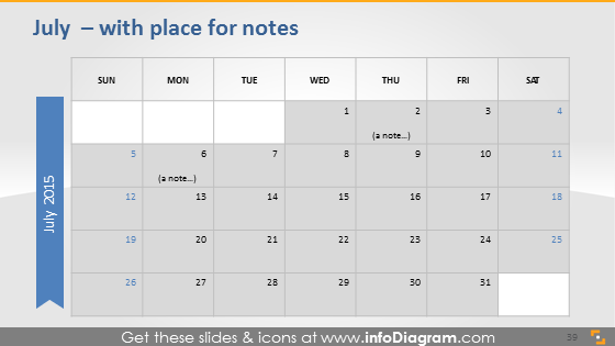 July school notes plan 2015 ppt