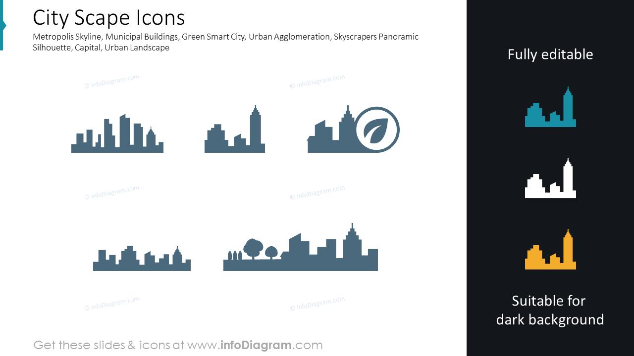 City Scape Icons