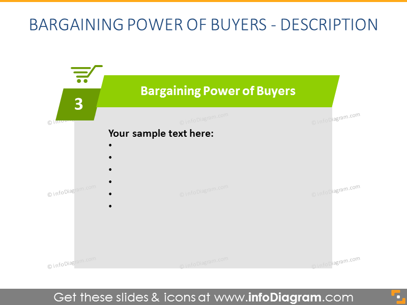 Buyers Porter Force Marketing Diagram powerpoint
