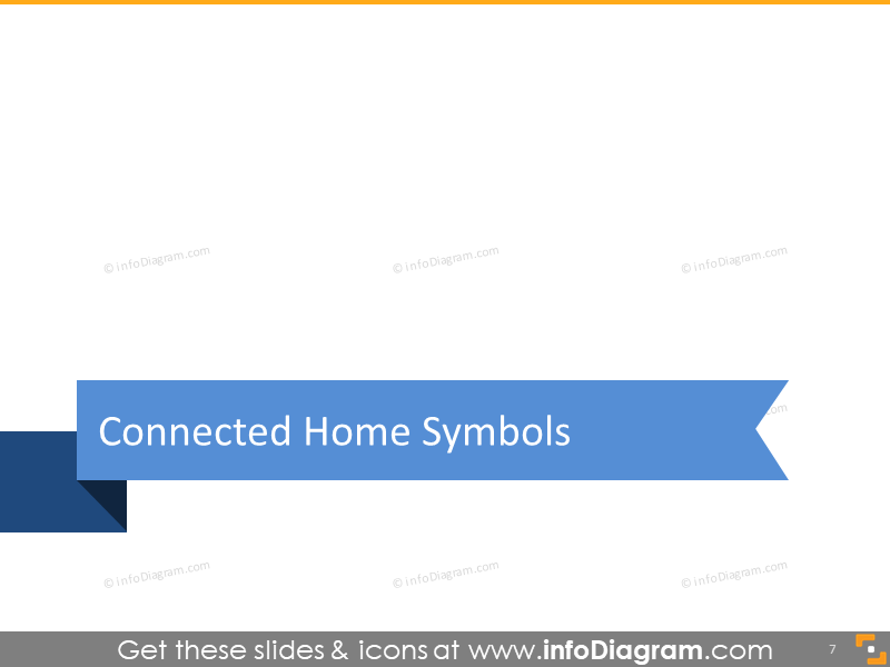 Connected home symbols