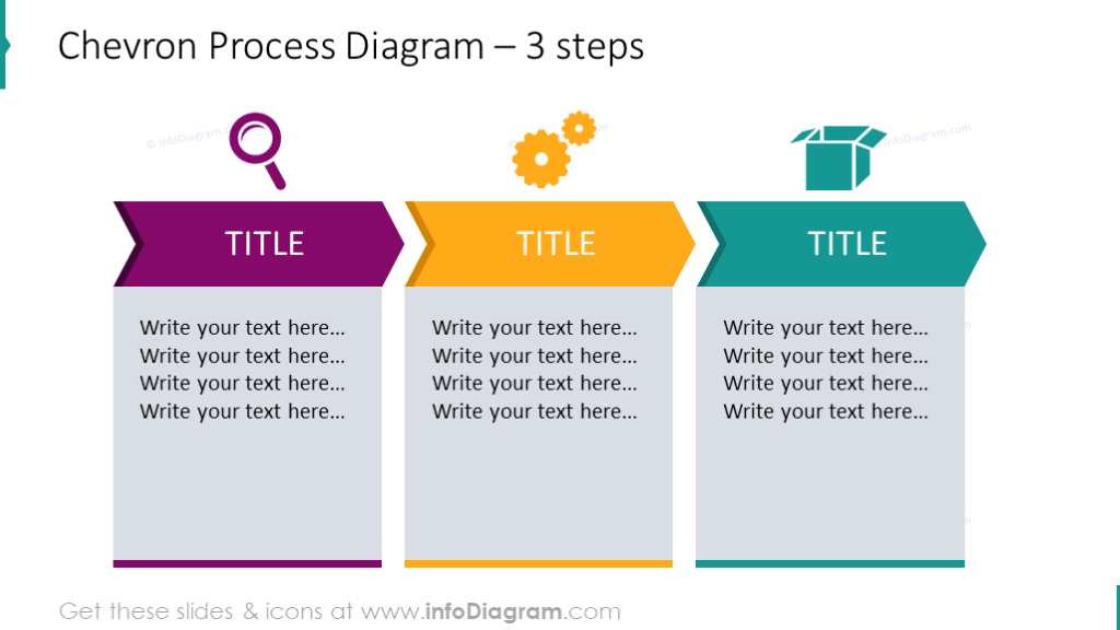 14 flat chevron timeline diagrams progress chart steps ppt