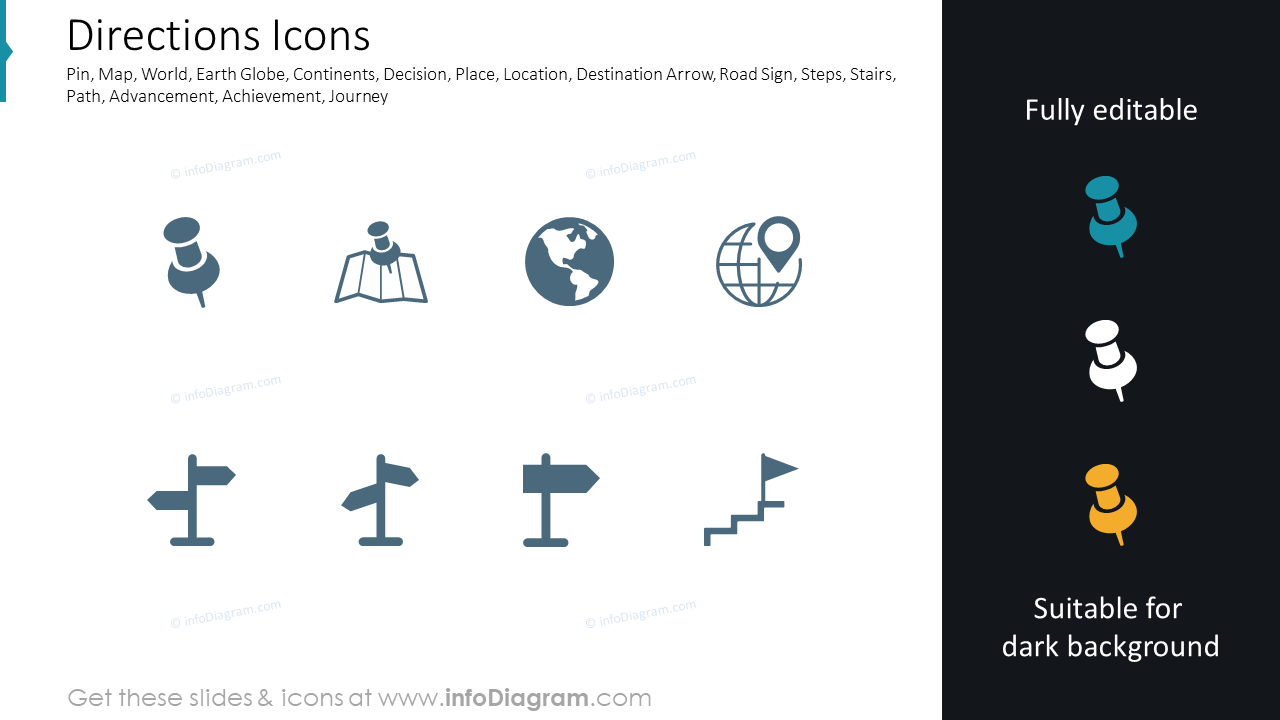 Directions Icons
