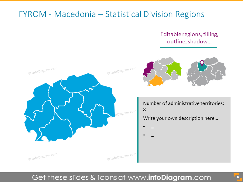 Macedonia Statistical Division Regions