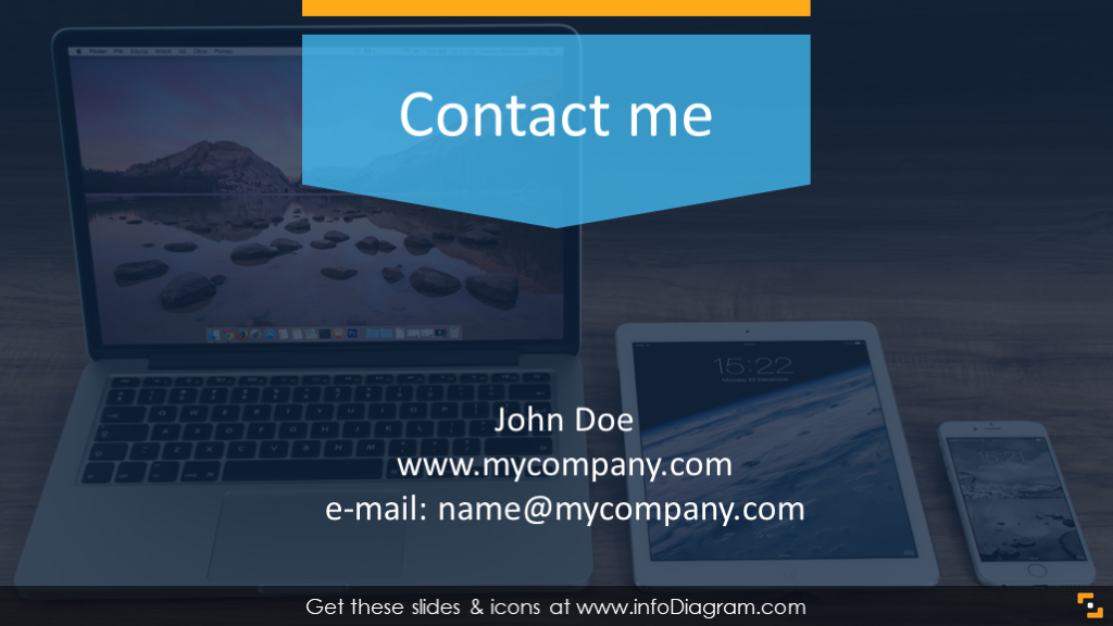 Webinar contact slide