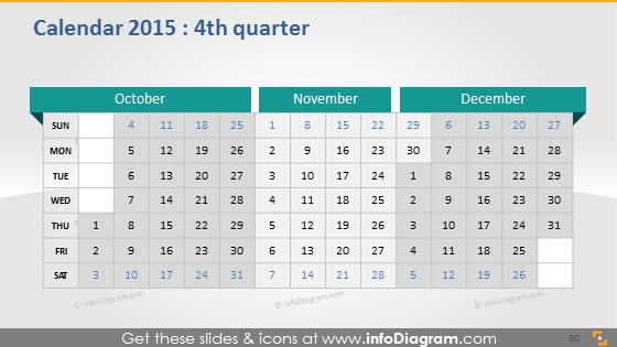 Quarter school calendar 2015 powerpoint
