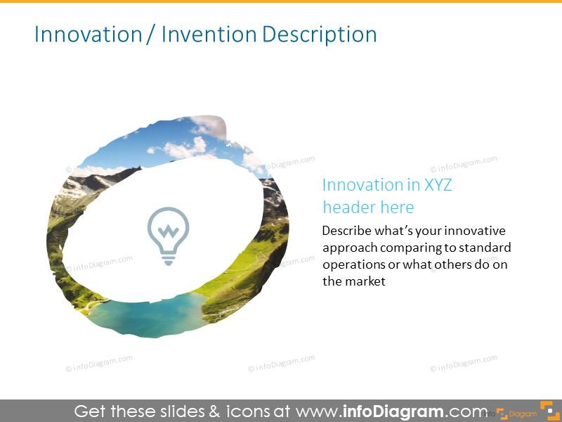 Headlineslideintended to illustrate innovation header