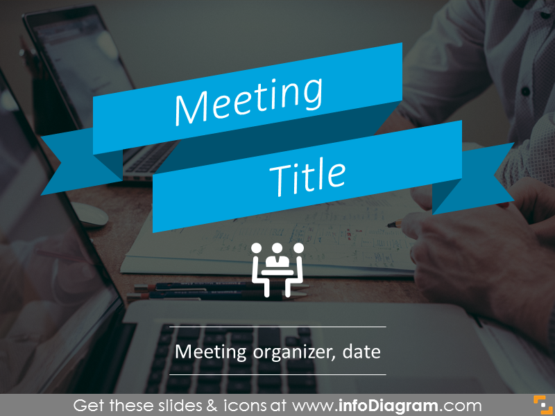 Example of Problem solving meeting - title slide