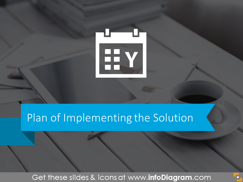 implementation plan - board meeting ppt template